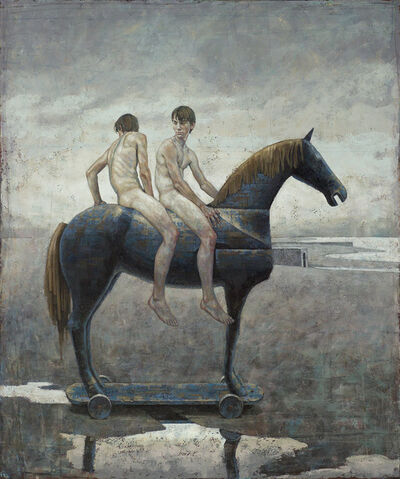 Daniel Barkley, 'Blue Knights (Blue Horse)', 2006