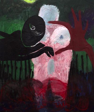 Andrew Birk, 'A HAND, A LICENSE PLATE, VENUS, A BOX TRUCK, OSEA NIGHTTIME', 2015