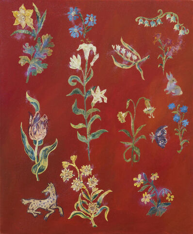 Karen Kilimnik, 'The Floral Kingdom of the Renaissance', 2017
