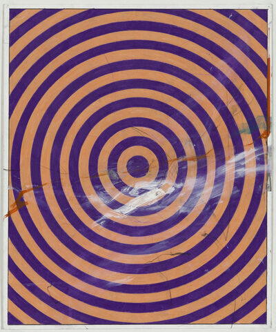 Andrew Brischler, 'Punk & Faggotry (Purple & Pink Target)', 2015