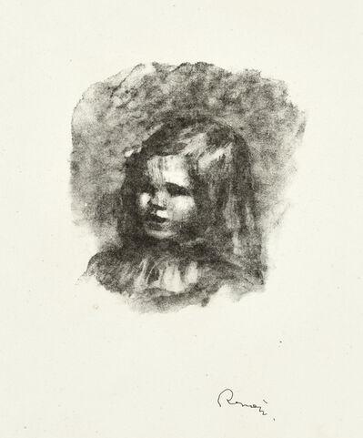 Pierre-Auguste Renoir, 'Claude Renoir, Tourné à Gauche, from L'Album des Douze Lithographies Originales de Pierre-Auguste Renoir (Delteil 40)', 1919