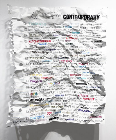 William Powhida, 'After the Contemporary', 2018