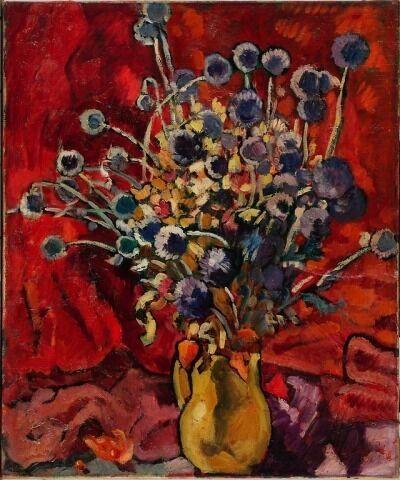 Louis Valtat, 'Bouquet de chardons', ca. 1934