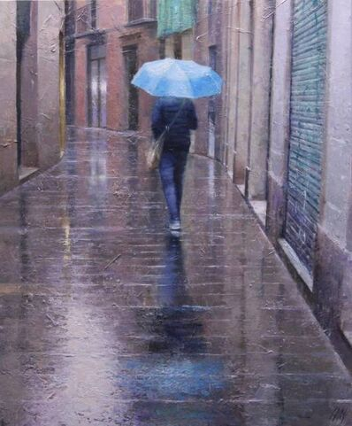 Carlos Díaz, 'Blue umbrella', 2020