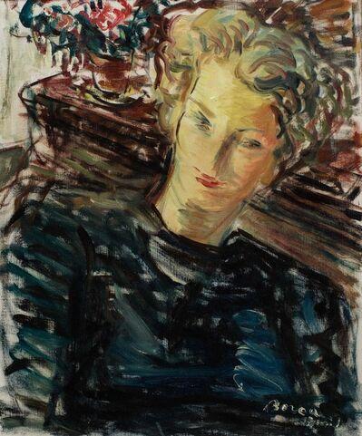 Dimitrie Berea, 'Portrait de jeune femme'