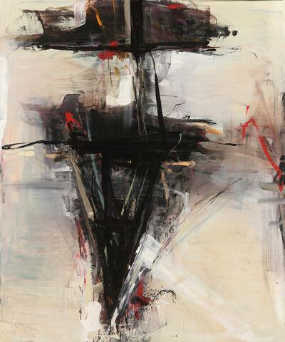 Tom Lieber, 'Red Black Spade', 2015