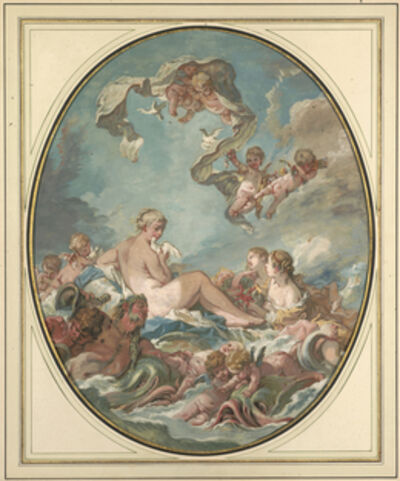 François Boucher, 'The Birth and Triumph of Venus', 1743