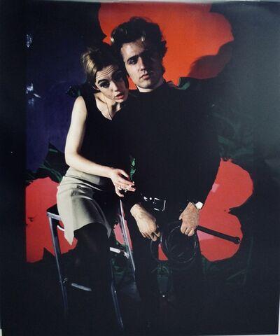 Nat Finkelstein, 'Edie Sedgwick and Gerard Malanga', 1965