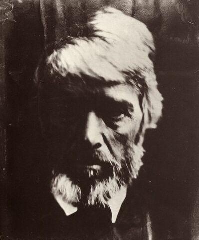 Julia Margaret Cameron, 'Portrait of Thomas Carlyle', 1867