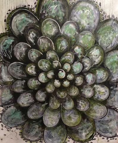 Juan Restrepo, 'green mandala', 2015