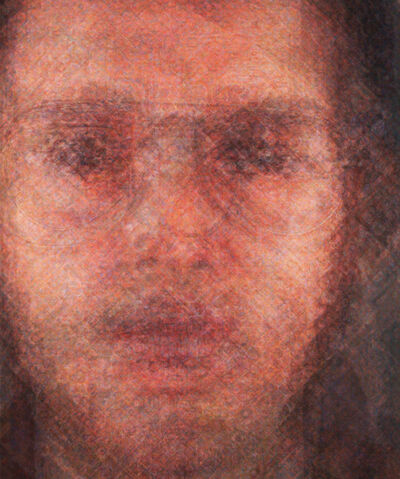 Doug Keyes, 'Chuck Close', 2014