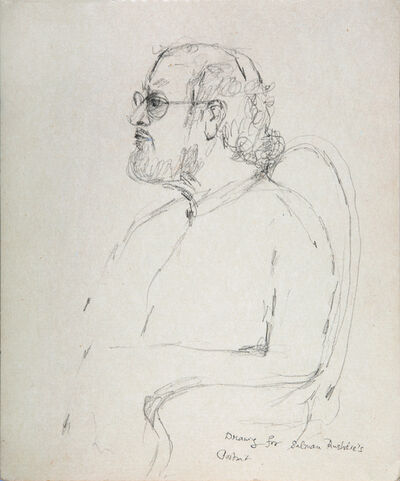 Bhupen Khakhar, 'Drawing for Salman Rushdie's portrait', c.1994
