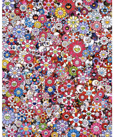 Takashi Murakami, 'Circus: Embrace Peace and Darkness within Thy Heart', 2020