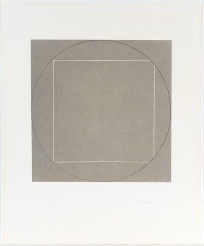 Robert Mangold (b.1937), 'Untitled', 1973