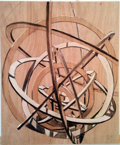 Manu Muniategiandikoetxea, 'Fragmento sobre madera nº9', 2014