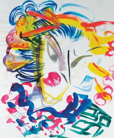 Ushio Shinohara 篠原 有司男, 'Geisha in Full Color', 2009