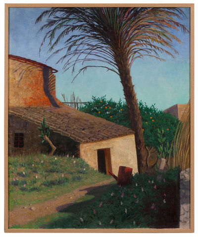 Félix Vallotton, 'Cagnes, le palmier', 1924