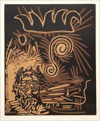 Pablo Picasso, 'Faune et Vieux Roi / Le Vieux Bouffon', 1963