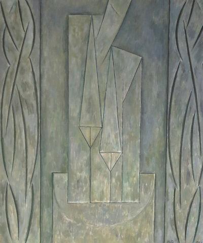 Alfredo Hlito, 'Efigie con tema central', 1987