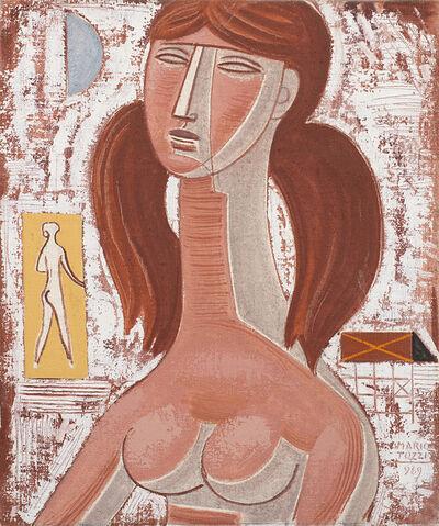 Mario Tozzi, 'Fanciulla con due code', 1969