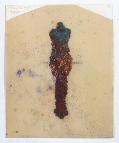 Jürgen Brodwolf, 'Pigmentfigur', 2001