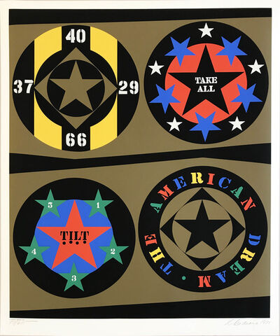 Robert Indiana, 'Decade (The American Dream)', 1971