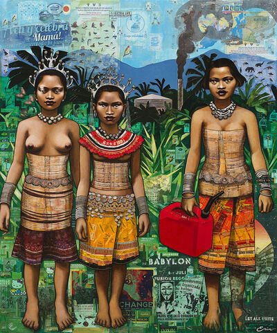 Erin Currier, 'Borneo Schoolgirls'