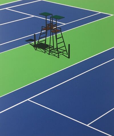 Daniel Rich, 'Empty Courts, Queens NY', 2020