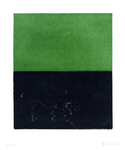 Günther Förg, 'Black Green (Schwarz Grün)', 1990-2000