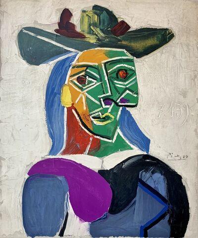Pablo Picasso, 'Femme au Chapeau', 1956