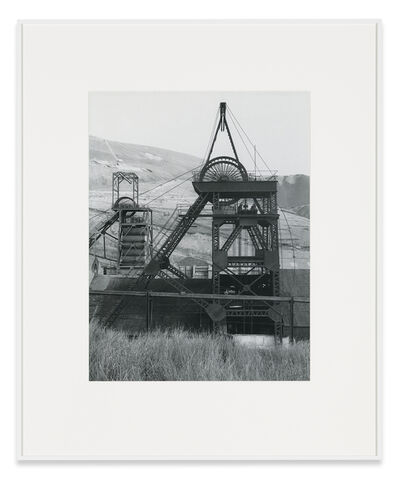 Bernd and Hilla Becher, 'Winding Tower, Garw Colliery, Ponty Cymmer, South Wales, GB', 1973