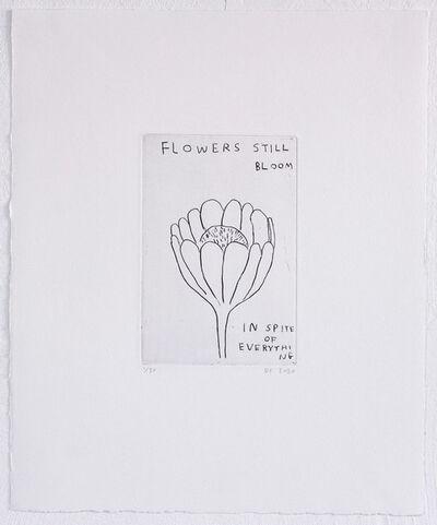 David Shrigley, 'Flowers in Bloom...', 2020