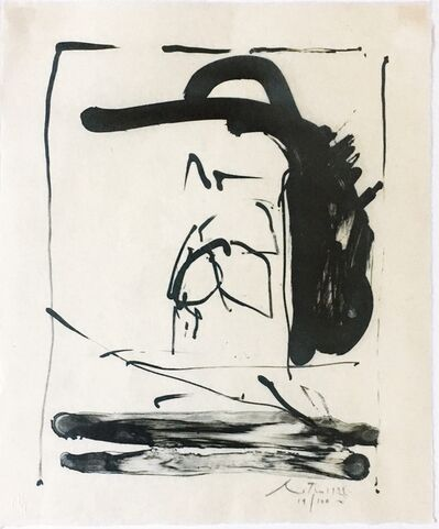 Robert Motherwell, 'Apropos (B.20; E./B. 283)', 1981