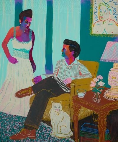 John Holcomb, 'Reading Room', 2018