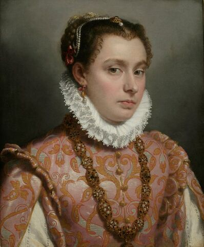 Giovanni Battista Moroni, 'Young Lady', 1560-1565