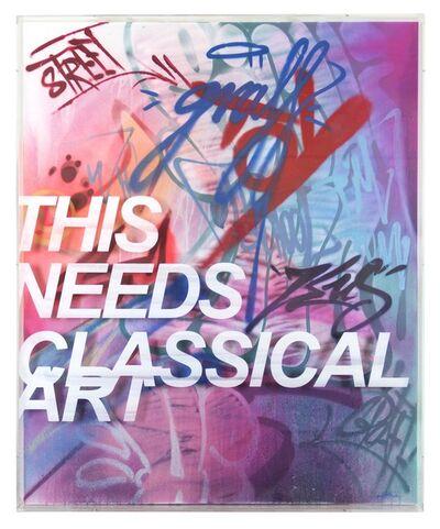 PichiAvo, 'This needs classical art 1.2', 2018