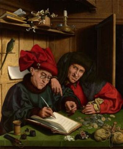 Follower of Marinus van Reymerswaele, 'The Misers', 1548-1551