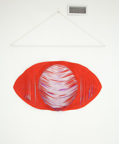 Anya Kielar, 'Red Eye Wall Hanging', 2012