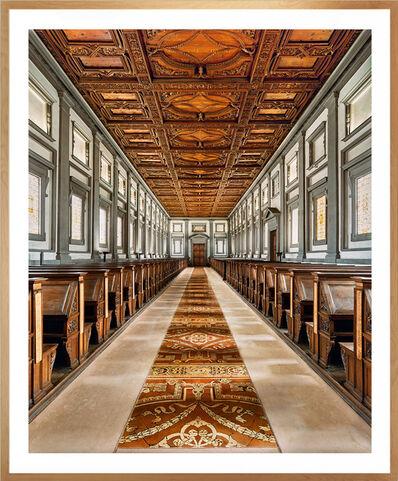 Ahmet Ertug, 'Laurenziana Library, Florence', 2016