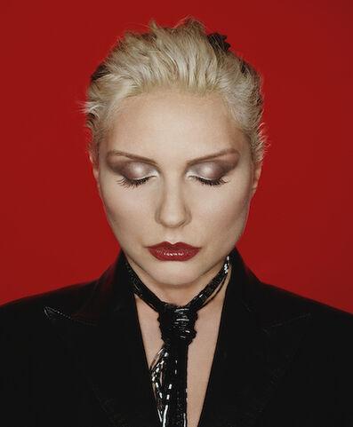 Rankin, 'Blondie Eyes Shut', 1998