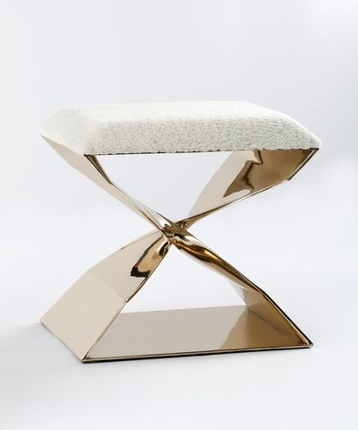 Carol Egan, 'Sculptural Bronze Stool', 2014