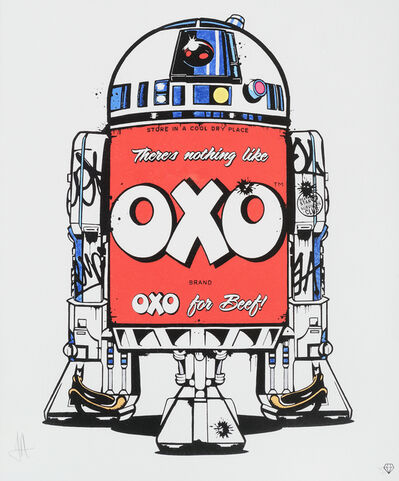 JJ Adams, 'British Branded R2D2 (OXO)'