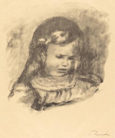 Pierre-Auguste Renoir, 'Claude Renoir, head lowered (Claude Renoir, la tete baissee)', 1904