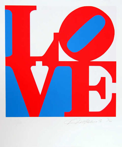 Robert Indiana, 'Book of Love 5', 1996