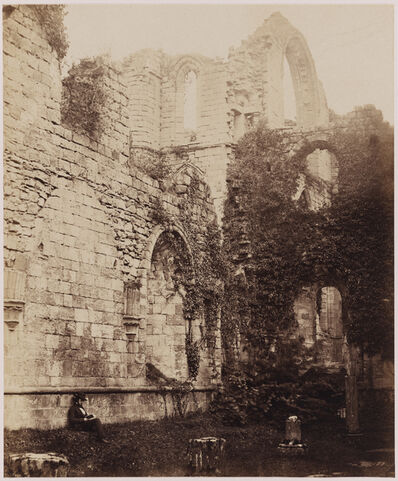 Philip Henry Delamotte, 'Ruined Abbey', ca. 1855