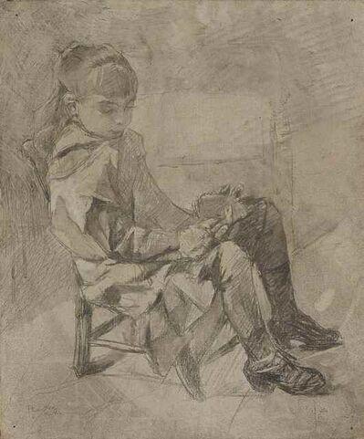 Henri de Toulouse-Lautrec, 'Mademoiselle Béatrix Tapié de Céleyran', 1882