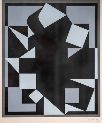 Victor Vasarely, 'Orgovan', 1961