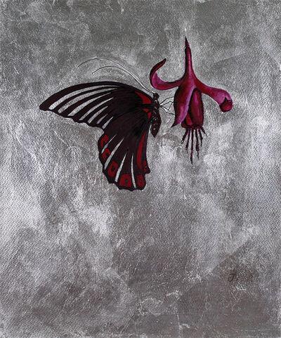 Alena Vavilina, 'Butterflies Collection 4'