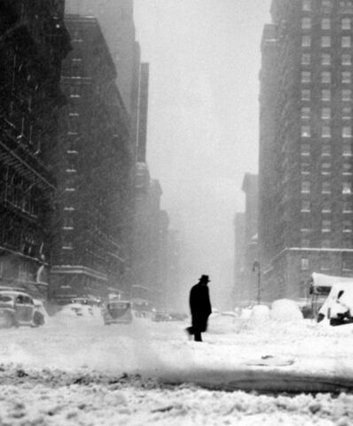 Ted Croner, 'Little Man in Snow', 1947-1948