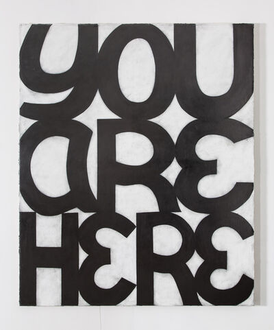 Allan Graham, 'YOU ARE HERE', 2013
